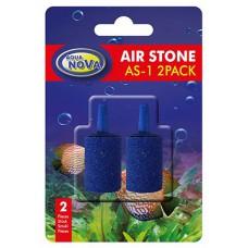 Aqua Nova luchtsteen cilinder blauw 25 mm, 2 stuks Luchtstenen