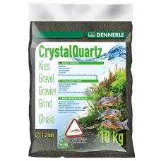 Dennerle Kristal Kwartsgrind 10 kg, diamantzwart Aquariumgrind/zand