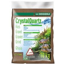 Dennerle Kristal Kwartsgrind 10 kg, donkerbruin Aquariumgrind/zand