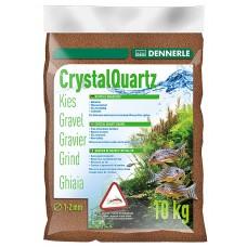 Dennerle Kristal Kwartsgrind 10 kg, reebruin Aquariumgrind/zand