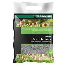 Dennerle Nano Garnalen kwartsgrind 2 kg, arkansas grijs Aquariumgrind/zand