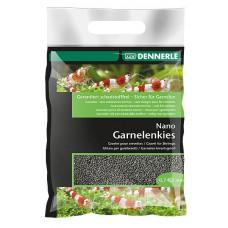 Dennerle Nano Garnalen kwartsgrind 2 kg, sulawesi zwart Aquariumgrind/zand