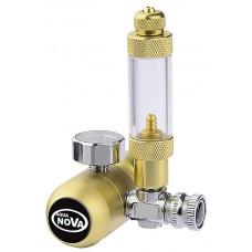 Aqua Nova CO2 drukregelaar met 1 meter, hervulbare fles CO2 Drukregelaars
