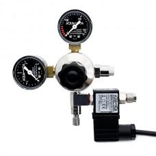 Aqua-Noa CO2 drukregelaar met 2 meters, incl. magneetventiel CO2 Drukregelaars