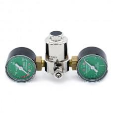 Aqua-Noa CO2 drukregelaar Basic 2 manometers voor wegwerpflessen CO2 Drukregelaars