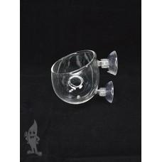 APO Int-Polka, glazen planten pot Glas