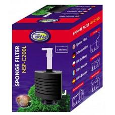 Aqua Nova sponsfilter NSF-C200L met vaste voet, tot 200 liter Aqua Nova