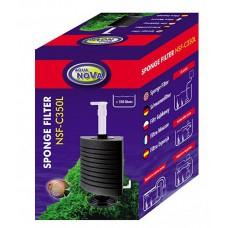 Aqua Nova sponsfilter NSF-C350L met vaste voet, tot 350 liter Aqua Nova