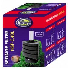 Aqua Nova sponsfilter NSF-C40L met vaste voet, tot 40 liter Aqua Nova
