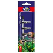 Aqua Nova metalen luchtkraan 4-weg 4/6 mm Luchtpomp accessoires