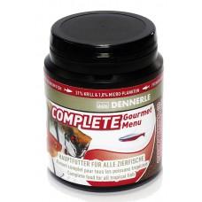 Dennerle Complete Gourmet Menu, 80 gram 200 ml potje Granulaat / Pellets