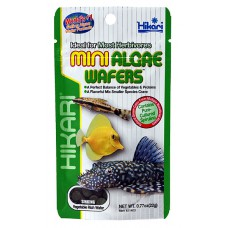 Hikari Tropical Mini Algae Wafers 22 gram, zinkende wafers Tabletten / wafers