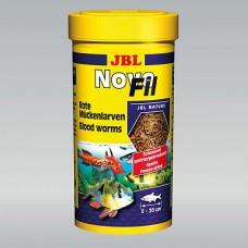JBL NovoFil 100 ml, gedroogde rode muggenlarven Gevriesdroogd