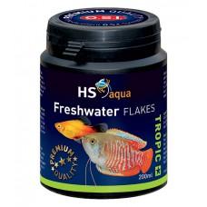 HS Aqua / O.S.I. Freshwater flakes 200 ml/35 g, vlokkenvoer Vlokken
