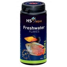 HS Aqua / O.S.I. Freshwater flakes 400 ml/70 g, vlokkenvoer Vlokken