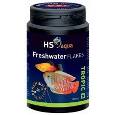 HS Aqua / O.S.I. Freshwater flakes 1000 ml/200 g, vlokkenvoer Vlokken