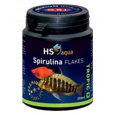HS Aqua / O.S.I. Spirulina flakes 200 ml/35 g, spirulina vlokkenvoer Vlokken
