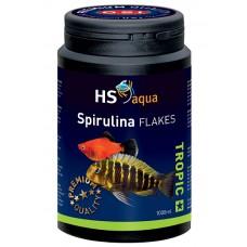 HS Aqua / O.S.I. Spirulina flakes 1000 ml/200 g, spirulina vlokkenvoer Vlokken