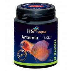 HS Aqua / O.S.I. Artemia flakes 200 ml/35 g, artemia vlokkenvoer Vlokken