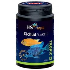 HS Aqua / O.S.I. Cichlid flakes 1000 ml/200 g, cichliden vlokkenvoer Vlokken