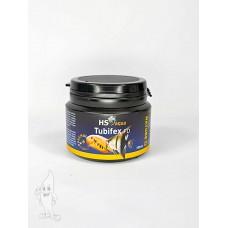 HS Aqua / O.S.I. tubifex 100 ml/14 gram, gedroogde tubifex Gevriesdroogd