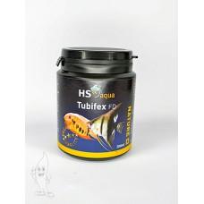 HS Aqua / O.S.I. tubifex 200 ml/25 gram, gedroogde tubifex Gevriesdroogd