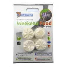 Superfish Weekend Food 4 stuks, weekendvoer Voedingsblok