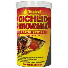 Tropical Cichlid & Arowana sticks large 1000 ml/ 300g Sticks