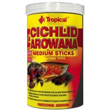 Tropical Cichlid & Arowana sticks 250 ml/ 90g Sticks