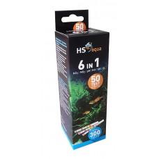 HS Aqua teststrips 6 in 1 test set Dompeltesten