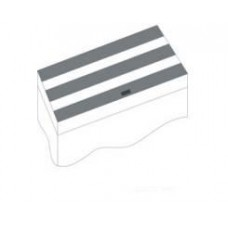 Juwel kleppenset IV zwart 120x50 cm voor Rio 300 Accessoires